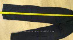 Брюки темно синие до 130 см