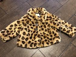 Красивая леопардовая шубка