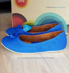 Новые кожаные туфли UMI Kids