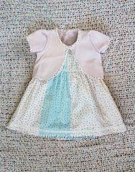 Комплект Mothercare - платье, болеро, трусики