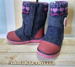 Зимові чобітки-валянки для дівчаток в наявності