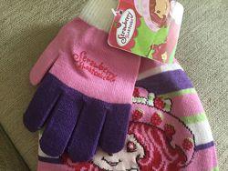 Комплект шапка и перчатки 50-52 размера фирмы tu