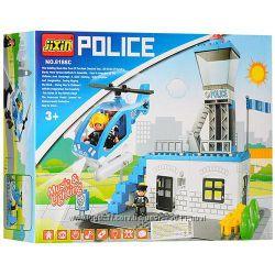 Конструктор Полицейский участок Police ТМ JIXIN 55 деталей арт. 8188С