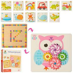 Развивающая игрушка - мозаика с трафаретами арт. 35980 2088