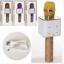 Микрофон для караоке беспроводной 4 цвета арт. Q7Lux