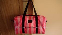 Фирменный набор VS Signature Stripe сумка и косметичка