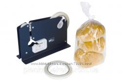 Ручной клипсатор для закрытия хлебных пакетов скотчем