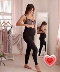 Леггинсы хлопок для беременной Мамин Дом мод. 635 в наличии