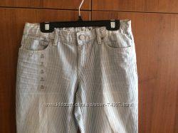 Новые летние брюки Gap в полосочку
