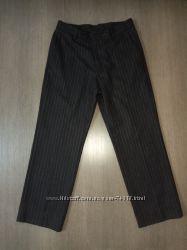 Шерстяные укороченные брюки DKNY