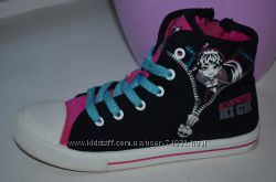Стильные кеды Monster High р. 32 по стельке 20 см