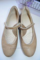 Кожаные балетки Ecco р. 37 по стельке 24, 5 см