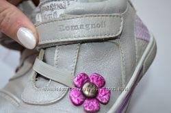 Кожаные Итальянские ботиночки Romagnoli р. 24 по стельке 15, 5 см