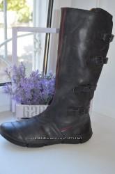 Кожаные, демисезонные сапоги Ecco р. 42 по стельке 27, 5 см