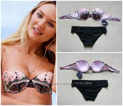Купальник Victorias Secret, оригинал, размер лиф 75С, 70D, 34С, плавочки S