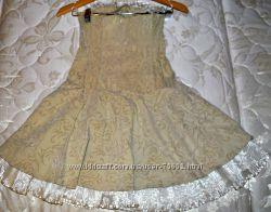 Шикарное платье с корсетом, жаккард р. 42-44 Указаны замеры