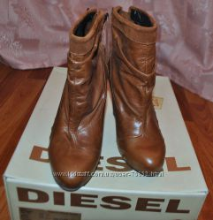 DIESEL Women&acutes Nuit Ankle Boot Оригинал Натуральная кожа р. 37, 5-38
