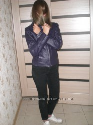 Кожаная куртка  40р