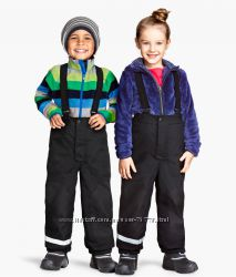 Теплые зимние штаны H&M 7-8