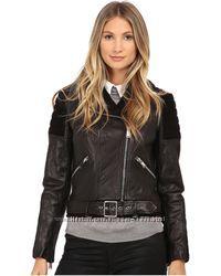 Кожаная новая куртка Nicole Miller, оригинал с Америки