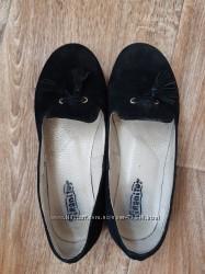 Туфли Tiranitos р. 32 натуральная замша кожа