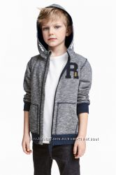 Толстовки для мальчишек утепленные,  H&M