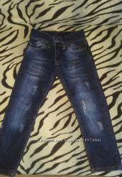 Продам джинсы для маленького модника или модницы 98 размер