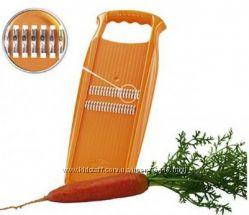 Терки Бернер для корейской моркови, спиральные, вафельные, детские для пюре