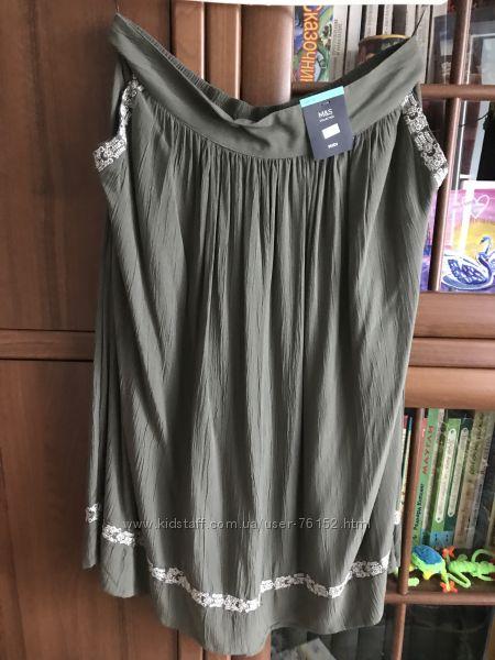 Фирменная летняя юбка от M&S. Размер M-L