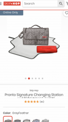 Сумка, органайзер для переодевания малыша Skip Hop Pronto changing station