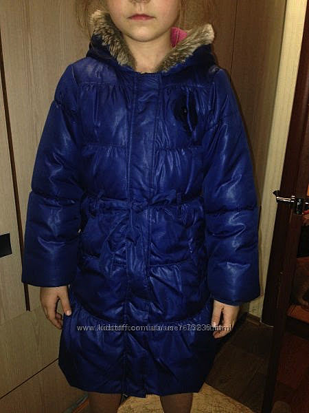 Теплое демисезонное пальто LC Waikiki Турция 5-6лет