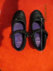 Clarks туфли кожаные школьные. 12, 5 G или 31