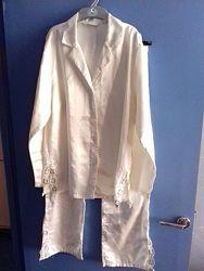 Пижама атлас с кружевом TCM германия 36-38