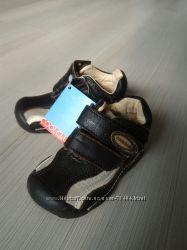 Кожаные туфельки для малыша 20 размера