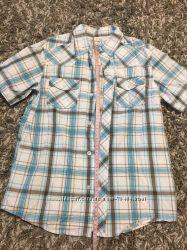 Тенниска, рубашка с коротким рукавом мальчику 11-12 лет