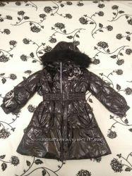 Стильное зимнее пальто REIMA до -30 на рост до 116 в идеальном состоянии