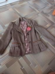 Шикарный пиджак mothercare 67 лет