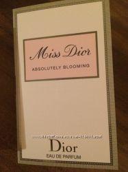 Miss Dior Absolutely Blooming Christian Dior пробник оригинал