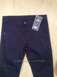 Стильные катоновые брюки в школу 10-16 лет