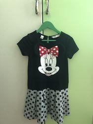 Платье Микки для малышки 122-128