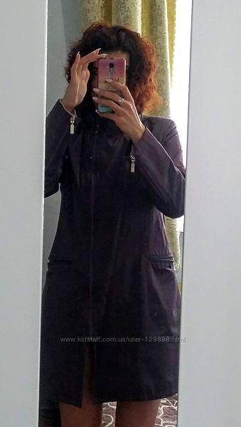 Баклажановий плащик 46 розміру