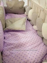 Комплекты постельного белья в детскую кроватку Bonna коса