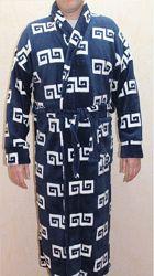 Мужские махровые халаты с капюшоном разные модели, размеры