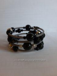 Красивые браслеты из натуральных полудрагоценных камней