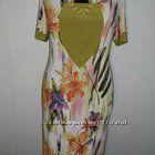 Летнее трикотажное платье и сарафан размер 54 в наличии