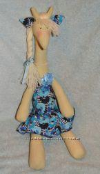 Забавная кукла Жираф