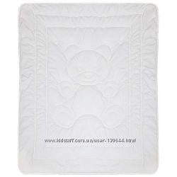 Детские одеяла ТЕП белого цвета Baby snow 110на40