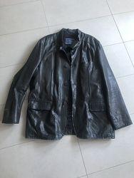 Кожаная куртка 54 р. XL XXL