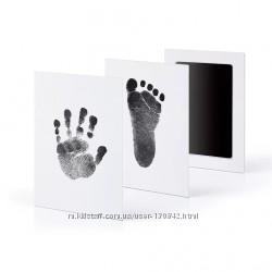 Отпечаток ножки и ручки handprint