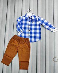 Рубашка и брюки на годик